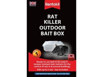 Rat Killer Outdoor Bait Box